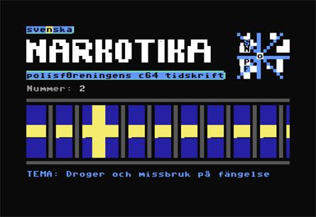 Svenska Narkotika Polisföreningens c64 tidskrift